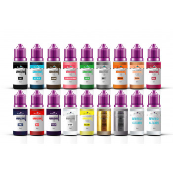 Professional Set of 16x15ml...