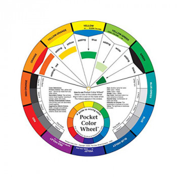 Colour Mixing Guide Wheel